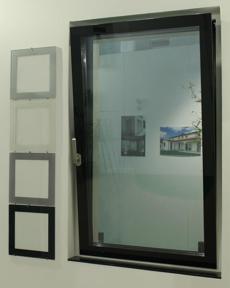 Serramenti in alluminio tutto vetro - Sistemi antintrusione per finestre ...