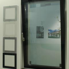 Serramenti in alluminio - tutto vetro - serigrafie disponibili