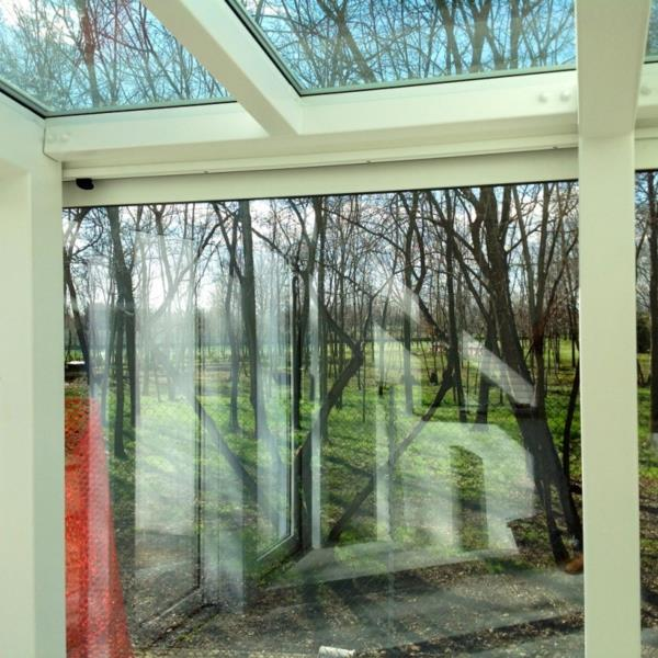 giardino d'inverno veranda scorrevoli alluminio